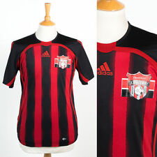 ADIDAS TRUSSVILLE UNITED SOCCER CLUB USA FOOTBALL JERSEY SHIRT RED & BLACK S
