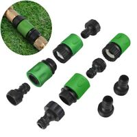 Garden Hose Quick Connect Plastic Fitting Water Hose Connectors 3/4 inch 1Set