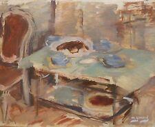 Maud GERARD (1915-2013) HsT / Ecole belge / Années 40 ou 50 Fauvisme Fauvism