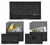 Genuine Leather Flip Wallet Protective Case Cover For Apple iPhone X 7 6S 5s SE