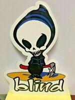 "blind, Skateboard Sticker, Manufacturers Original,  4-1/4"" X 3"""