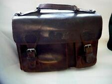 Alte Lehrertasche Bürotasche Schultasche Ledertasche Vintage