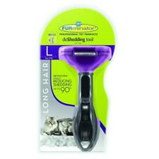 Furminator deShedding tool - Long hair removal tool for cats - Brand New