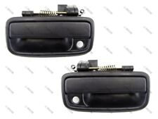 95-04 Toyota Tacoma Exterior Outside Door Handle, Black, Front PAIR