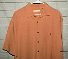 Campia Moda NWT Men's Size L Short Sleeve Button Front Shirt