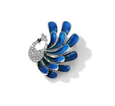 Clearance Christmas Birthday Jewellery Swarovski Crystal Pheonix Brooch Gift Box