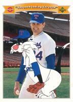 Nolan Ryan 1991 Upper Deck Comic Ball 2 #97 Texas Rangers Card