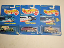 Hot Wheels Purple Passion/32 Ford Delivery/34 Ford from 1991