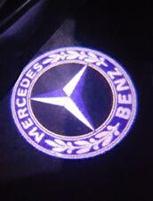Tür Beleuchtung 💡Mercedes Benz ✔ W203 C Klasse SLK CLK SLR W209 W208 + Logo