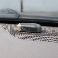 1x Fake Solar Car LED Alarm Light Security System Warning Theft Flash Blinking