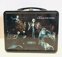 NECA Nightmare Before Christmas 2004 Metal Lunchbox W/ Thermos Set NEW RARE!