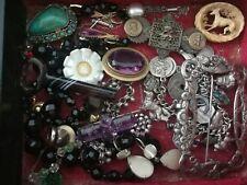 Lavoro Lotto di antico VINTAGE gioielli