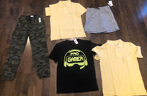 Lot Of Boys SZ Large 10-12 The Children's Place, Old Navy Clothing Lot NWT