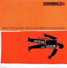 CD Duke ELLINGTONSoundtrack : Anatomy of a murder - MINI LP - 25-TRACK CARDSLEE