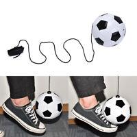 1pc Football Training Kick Soccer Ball With String Kids Beginner Practice Ball_F