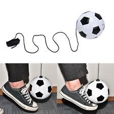 1pc Football Training Kick Soccer Ball With String Kids Beginner Practice B HF