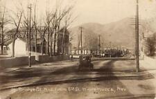 RPPC Bridge Street Scene WINNEMUCCA Nevada c1910s Vintage Photo Postcard