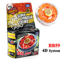 Beyblade Metal Masters 4D System RAPIDITY FUSION FIGHT MASTER BB59 Phoenix Toy