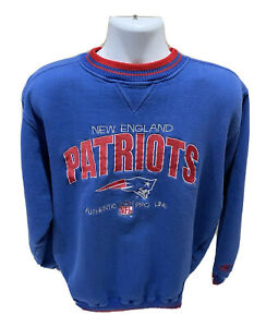 Vintage 90's New England Patriots Logo Athletic NFL Pro Line Sweatshirt Mens 2XL
