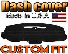 Chevrolet Suburban 2015-2019 W// FCW w// PTS Carpet Dash Cover Black