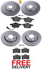 FOR VW GOLF MK5 2.0 GT TDI 170BHP FRONT AND REAR BRAKE DISCS AND PADS SET *NEW*