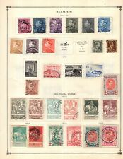 Kenr2: Belgium Semi Postal 1918-1941 Collection from 7 Vol Scott Intern Albums