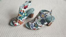 """L'Artiste by Spring Step Sandals """"Tapestry"""" (White) 37 (6.5 - 7)"""
