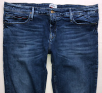 Mens TOMMY HILFIGER Sidney Jeans W38 L32 Blue Stretch Skinny Fit