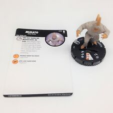 Heroclix Star Trek Away Team set Mugato #032 Rare figure w/card!