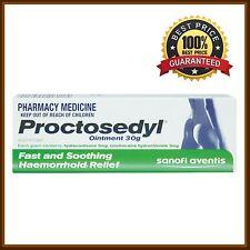 BEST PRICE! PROCTOSEDYL OINTMENT 0.5% 30G HAEMORRHOID RELEIF FP DISCOUNT CHEMIST