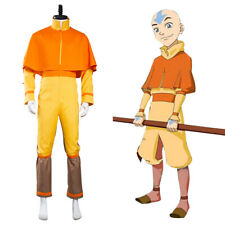 Avatar: The Last Airbender Avatar Aang Cosplay Jumpsuit Costume Suit Outfit
