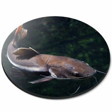 Round Mouse Mat - Redtail Catfish Fish Fishing Pond Lake Office Gift #24100