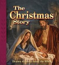 The Christmas Story : Drawn Directly from the Bible (2011, Hardcover)