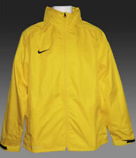 NEW Nike STORM FIT Rain Jackets Packable with Retractable Hood Yellow M