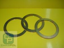 SET 5 PIECES 80 mm x 1 mm SHIMS,  WASHER, SPACER FOR PINS EXCAVATOR JCB