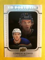 2019-20 Upper Deck Series 1 UD Portraits #P-5 Connor McDavid Edmonton Oilers