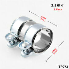 Stainless Steel Turbo Exhaust/Downpipe/Muffler Pipe Band/Flanges/Clamp+Bolts
