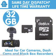 32GB Micro SDHC Tarjeta de memoria flash TF Para Lentes 1080p coche DVR de HD Dual Cámara Dash