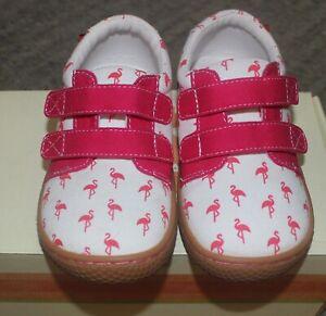 Livie & Luca Flamingo Peppy Shoes Sneakers - Size 8 - NIB