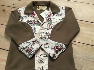 Vintage style Rockabilly  children's western shirts,Doghouse Vintage 3-4 years.