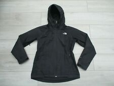 The North Face Womens Sequence Jacket Dryvent Waterproof Rain M Black Resolve