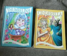 TWO BOOKS A Tale from the Land of Nod ~ Thumbelina / Cinderella - 2 x HB BOOK'S