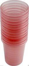 80 Stück Medikamentenbecher Kunststoff Medizinbecher Schnapsbecher Farbe: rot