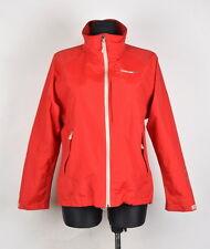 Didriksons Storm System Women Red Waterproof Jacket Size 38, Genuine