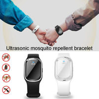 Anti Mosquito Insect Pest Bugs Repellent Repeller Wrist Band Bracelet Ultrasonic