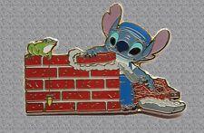 Stitch Laying Bricks Pin - DISNEY Shopping LE 250