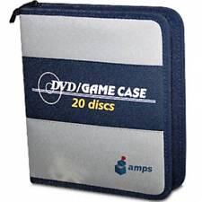 Amps 20 Discs DVD Game Nylon Carry Case NEW