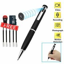 Spy Cameras Pen, Hidden Camera 32GB 1080P HD Mini Portable Pocket Camera + Video