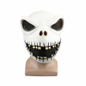 Jack Skellington Skull Mask The Nightmare Before Christmas Halloween Mask Props