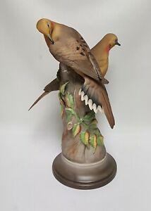 "Boehm Porcelain Bird Sculpture ""MOURNING DOVES"" 443"